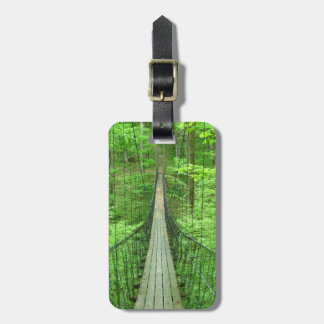 Suspension Bridge Luggage Tag