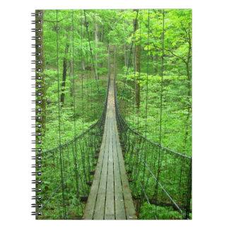 Suspension Bridge Notebooks