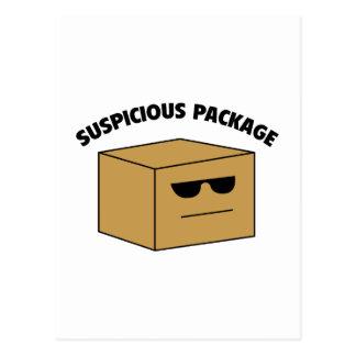 Suspicious Package Postcard