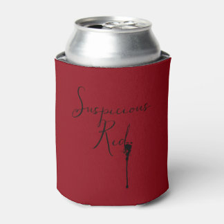 Suspicious Red Insulating Can Cooler