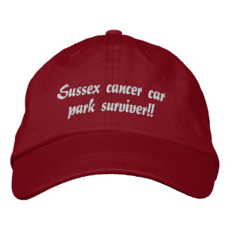 sussex cancer charity cap