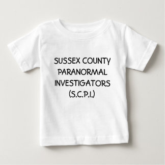 SUSSEX COUNTY PARANORMAL INVESTIGATORS (S.C.P.I.) BABY T-Shirt