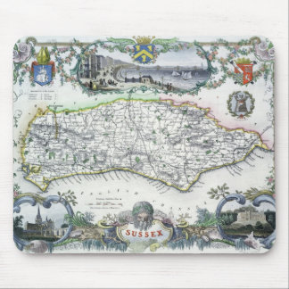 Sussex, engraved by W. Schmollinger Mouse Mat
