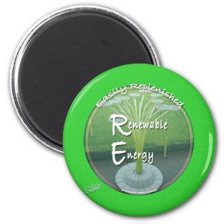 Sustainability 6 Cm Round Magnet