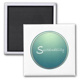 Sustainability Square Magnet