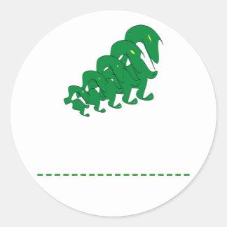 Sustainability Round Sticker