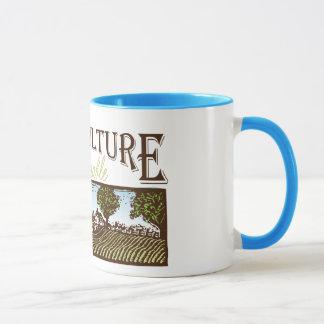 Sustainable Agriculture farm scene Mug