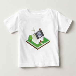 Sustainable renewable energy house baby T-Shirt