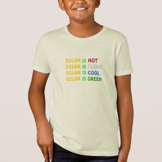 SUSTAINBLE SOLAR ENERGY - NUMBER TWO T-SHIRT