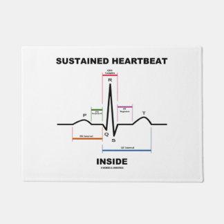 Sustained Heartbeat Inside (Electrocardiogram) Doormat