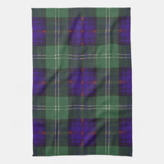 Sutherland Clan Plaid Scottish tartan Hand Towels