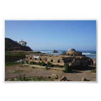 Sutro Baths Ruins – San Francisco Photo Print