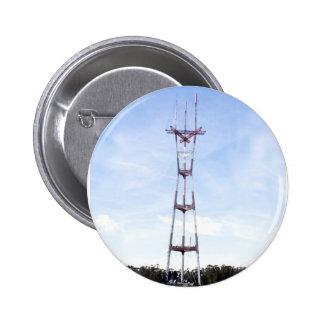 Sutro Tower 6 Cm Round Badge