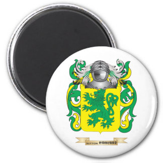 Sutton Coat of Arms Family Crest Fridge Magnets