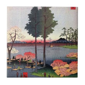 Suwa Bluff in Nippori (日暮里諏訪の台) Tile