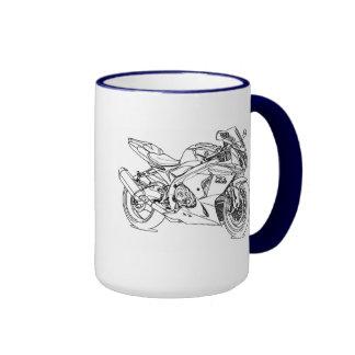Suz GSXR1000 2012 Ringer Coffee Mug