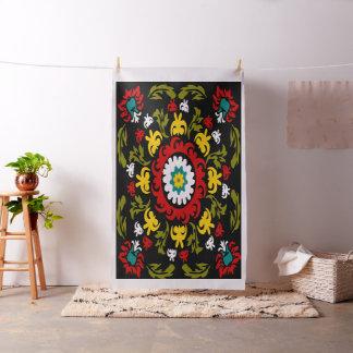 suzani, folk art fabric