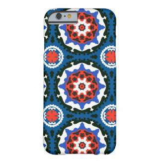 Suzani Pattern With Bold Ornament Barely There iPhone 6 Case