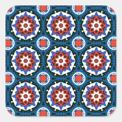 Suzani Pattern With Bold Ornament Sticker