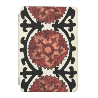 Suzani Style Decorative Floral Pattern iPad Mini Cover