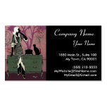 Suzanne in Lilac & Green - Business Cards