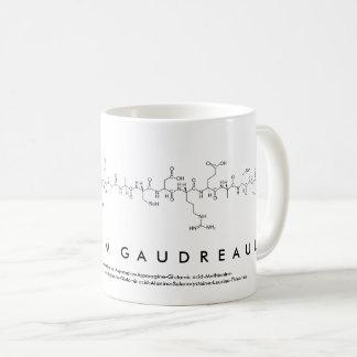 Suzanne M Gaudreault peptide name mug