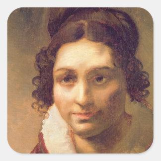 Suzanne or Portrait presumed Square Sticker