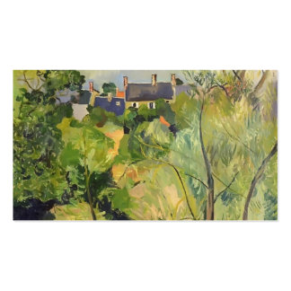 Suzanne Valadon- View from My Window in Genets Pack Of Standard Business Cards