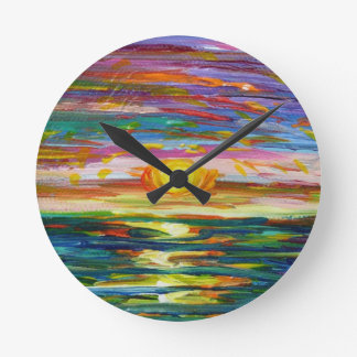 Suzannes Sunset clock