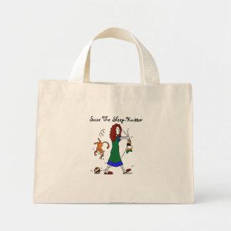 Suze The Sleep-Knitter Mini Tote Bag