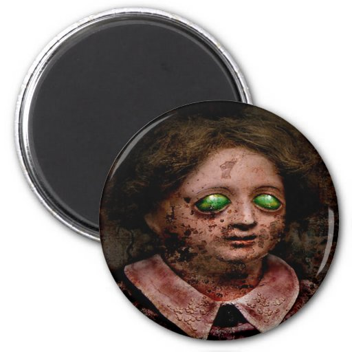 Suzette 6 Cm Round Magnet