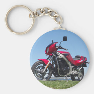 Suzuki 1992 GS500E Basic Round Button Key Ring