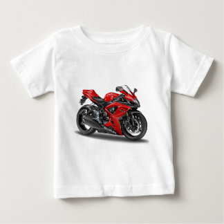 suzuki GSX-R600 Red Bike Baby T-Shirt