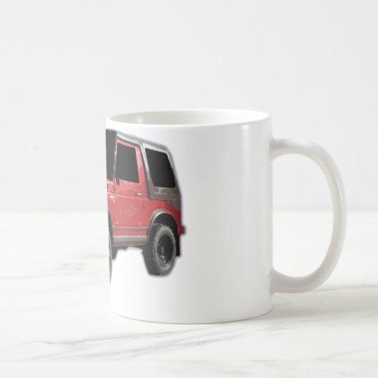 suzuki samurai coffee mug