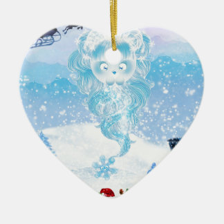 Suzy Snowflake is Coming to Town! Christmas Ornament