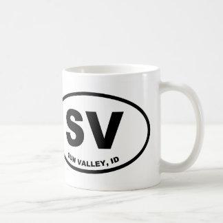 SV Sun Valley, Idaho Coffee Mug