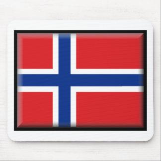 Svalbard Jan Mayen Norway Flag Mousepads