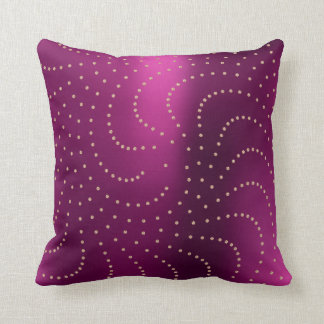 Svarowski Crystals Rose Gold Metallic Ruby Cushion