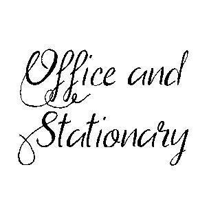 Office and Stationary