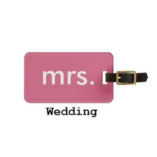 Luggage Tags - Wedding/Engagement Gift