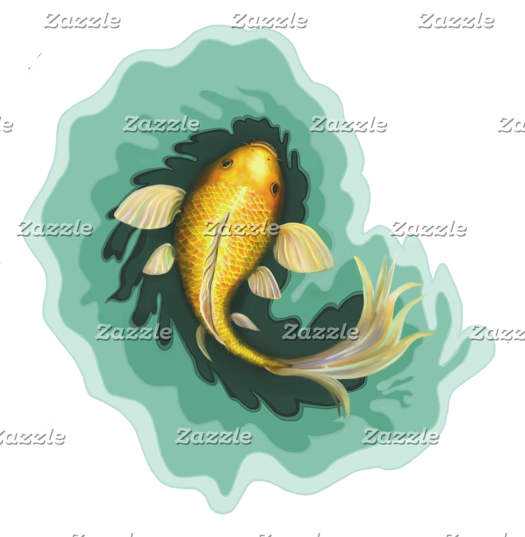 Classic Koi Fish