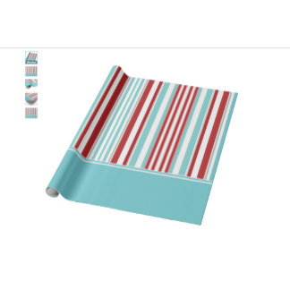 Striped Wrapping Paper & Supplies