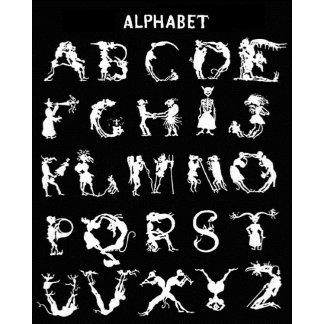 alphabet/initials