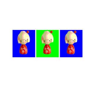 Kokeshi Trio