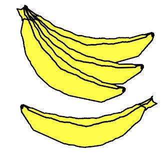 Bananas, Cherries & Pears