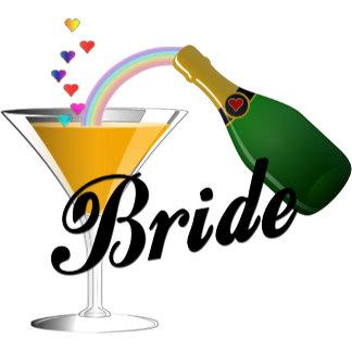 Champagne Toast Bride