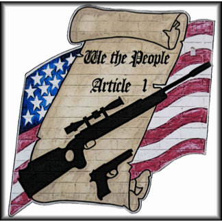 ( We The People ) Article 1 2nd Amendment Guns