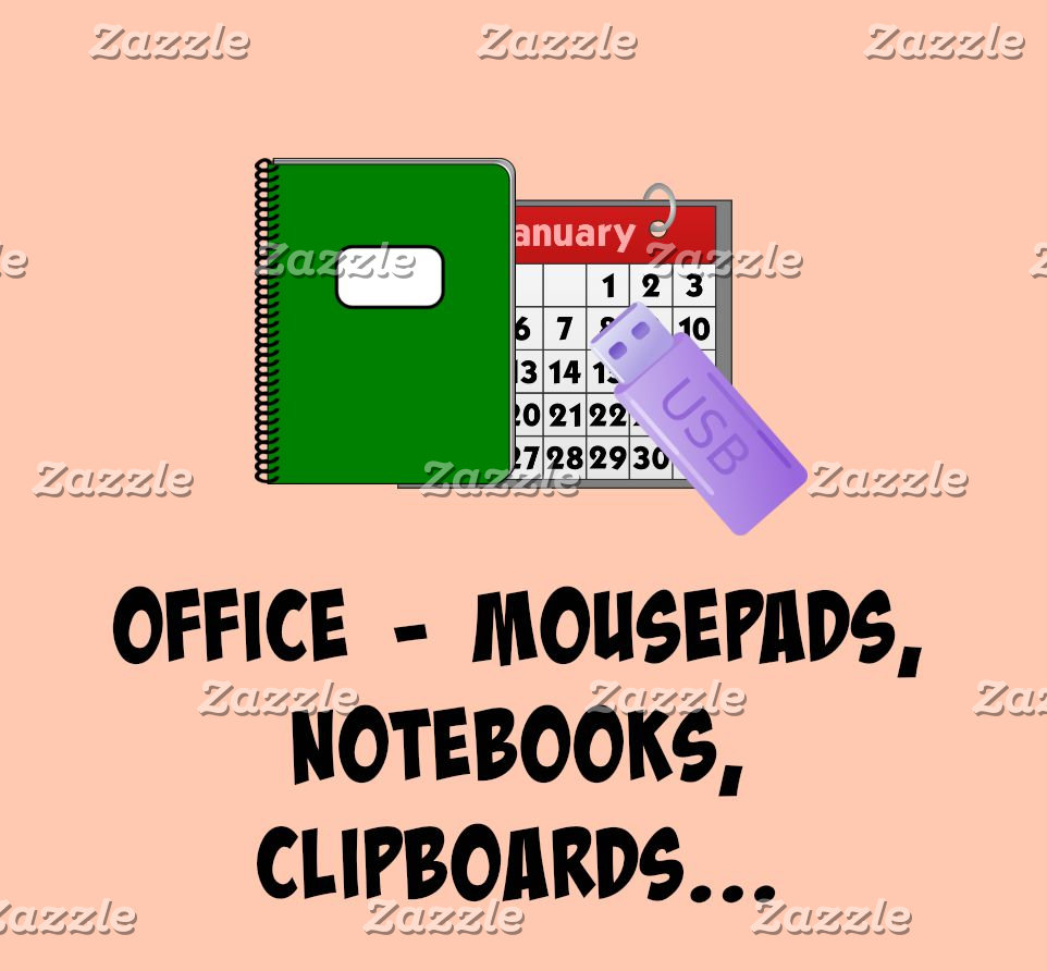 OFFICE: Business cards, Mousepads, Notebooks...