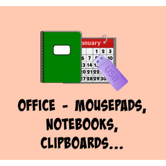 OFFICE: Post-It Notes, Mousepads, Clipboards...