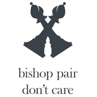 Bishop pair don't care
